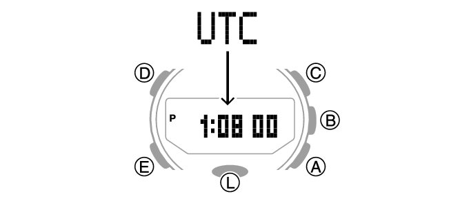 Selecting UTC (Coordinated Universal Time) as Your World