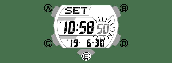Montre Casio Phys Mode Demploi