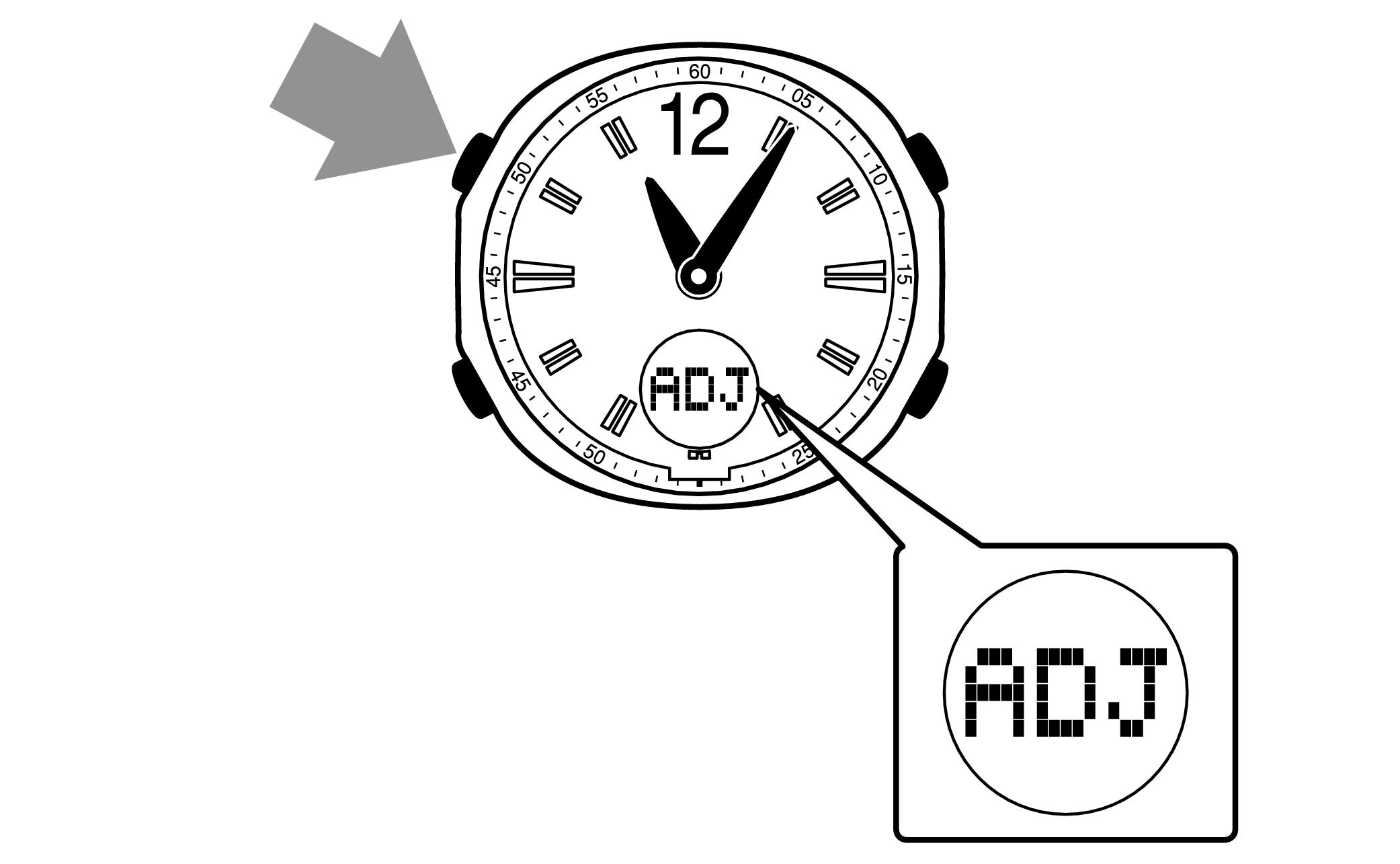 時計の時刻合わせ 5133