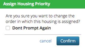 CT6 - Change Housing Priority