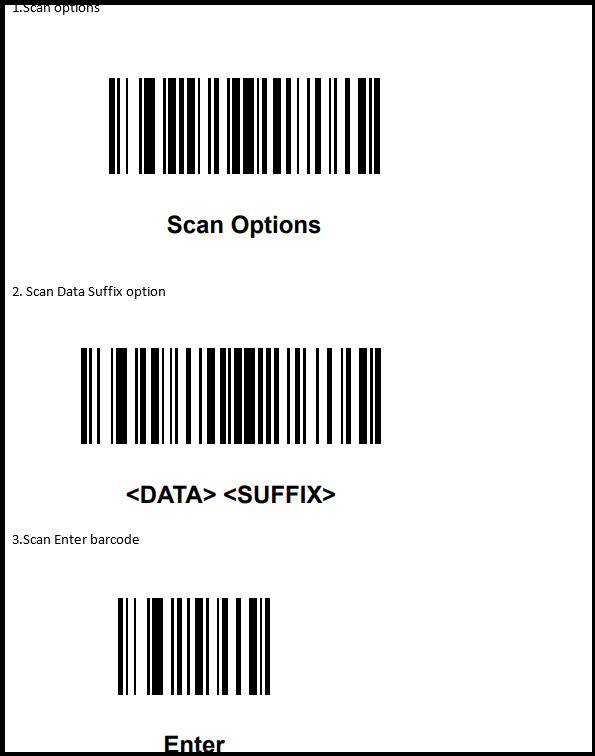 Scanners Setup