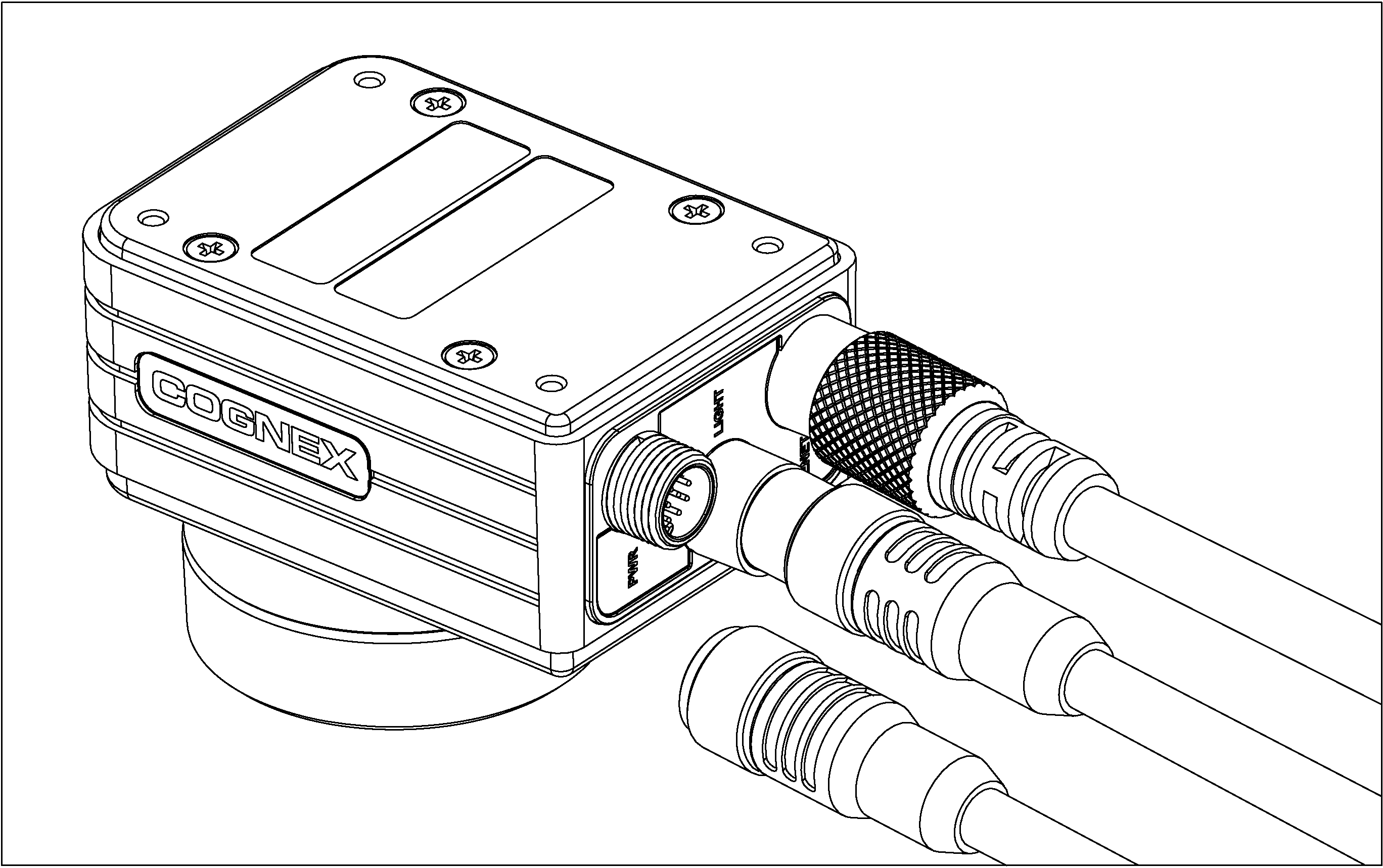 Connect the Power and I/O Breakout Cable