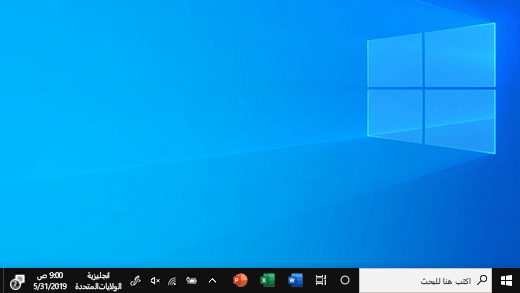 الشاشة الافتتاحية في Windows 10 - نظام التشغيل Windows - ويندوز