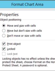 Properties tab in format chart area also move or resize  excel rh support office