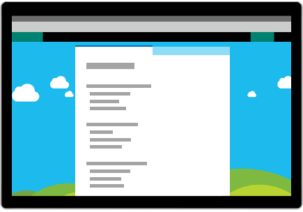 Conceptual image of Microsoft Forms