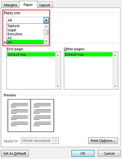 create a booklet or