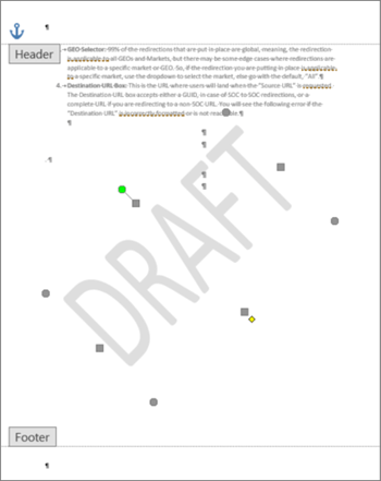 How To Add Draft To Word Document : draft, document, Custom, Watermark
