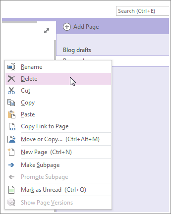 How Do You Delete A Notebook In Onenote : delete, notebook, onenote, Microsoft, Office, Tutorials:, Delete, OneNote, Windows