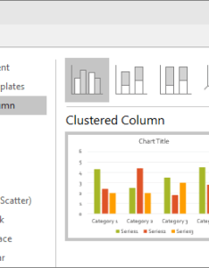 Shows column chart selection in powerpoint also use charts and graphs your presentation rh support office