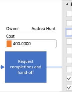 Apply data graphics for visio visualizer diagram also create  rh support office