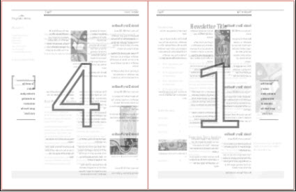 Print a newsletter on 11x17 paper