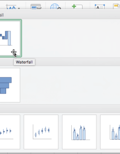 Waterfall chart on the ribbon also create  office support rh