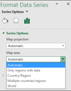 Excel map chart area options also format  office support rh