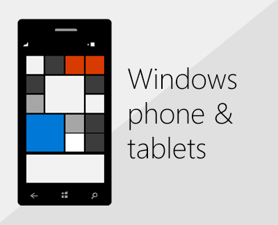 Click to set up Office and email on Windows phones
