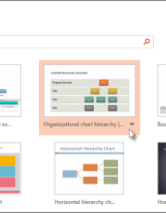 Create an org chart in powerpoint using  template also office support rh