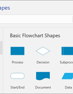 Shapes palette also add and connect in visio online rh support office