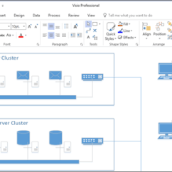 Visio Application Diagram Harbor Breeze Ceiling Fan Wiring Remote Select A Template In Screenshot Of Created 2016