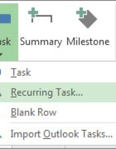 Recurring task command image also create tasks project rh support office