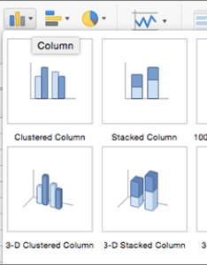 Choose another type of chart also create  in excel for mac rh support office