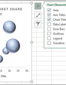 Chart elements menu also present your data in  bubble excel rh support office