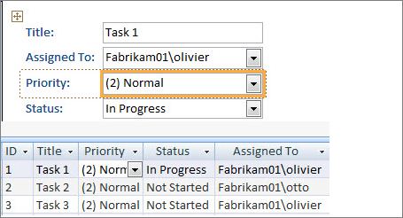 Create a view with Microsoft Access