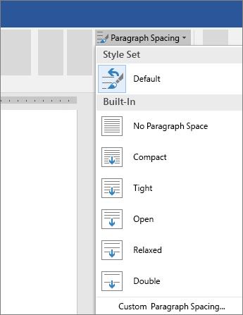Where Is Line Spacing In Word : where, spacing, Change, Spacing