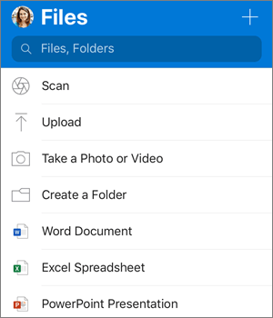 Use OneDrive on iOS - Office Support