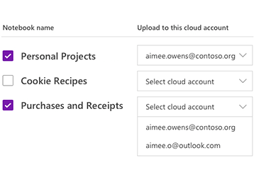 Uploading notebooks to a cloud account