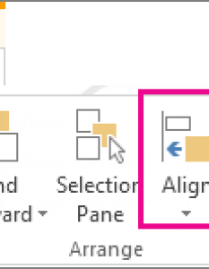 Align also turn the snap to grid and object options on or off office rh support