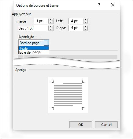 ajouter une bordure a une page