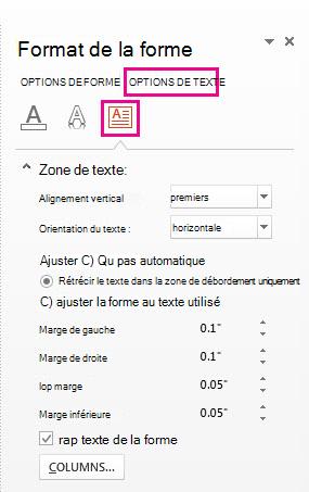 Faire Un Sommaire Sur Powerpoint : faire, sommaire, powerpoint, Créer, Colonnes, Texte, Forme, PowerPoint, Support, Office