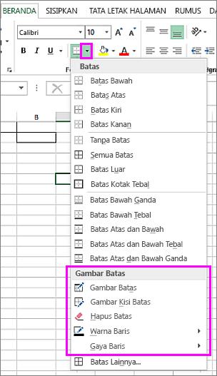 Menghilangkan Garis Di Excel : menghilangkan, garis, excel, Menerapkan, Menghapus, Batas, Lembar, Kerja, Excel