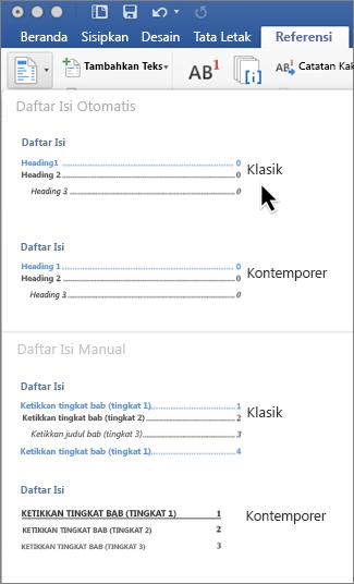 Membuat Daftar Gambar Otomatis Word 2016 : membuat, daftar, gambar, otomatis, Menyisipkan, Daftar, Dukungan, Office