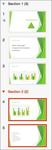 Bagian Bagian Microsoft Powerpoint 2010 : bagian, microsoft, powerpoint, Mengatur, Slide, PowerPoint, Menjadi, Beberapa, Bagian, Dukungan, Office