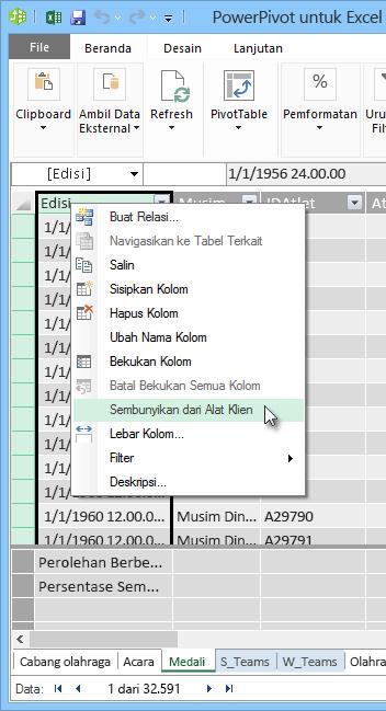 Menggabungkan Kolom Di Excel : menggabungkan, kolom, excel, Tutorial:, Menggabungkan, Internet,, Mengatur, Default, Laporan, Power, Excel