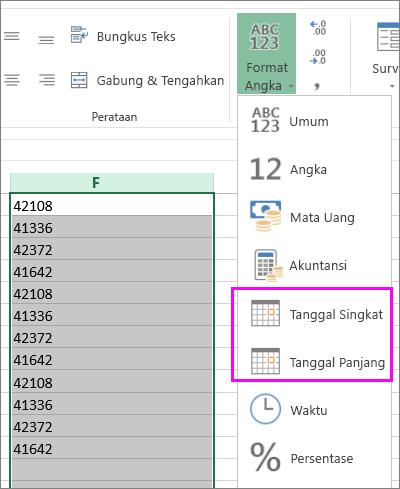 Merubah Tanggal Menjadi Text : merubah, tanggal, menjadi, Mengonversi, Tanggal, Disimpan, Sebagai, Menjadi, Excel