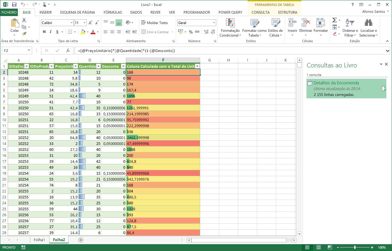 Inserir Uma Coluna Personalizada Numa Tabela Power Query