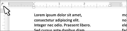 Taste der Mac-linken Registerkarte in der Linie
