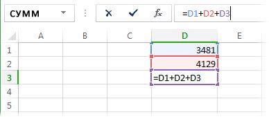 Formel, på grund av vilken cyklisk länk inträffar
