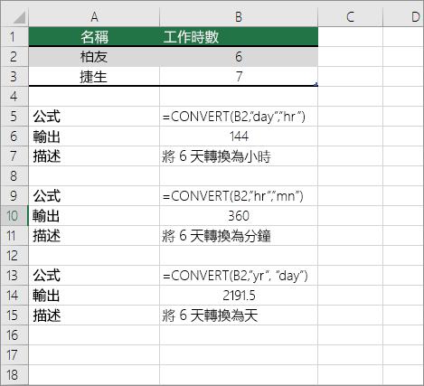 轉換時間 - Excel