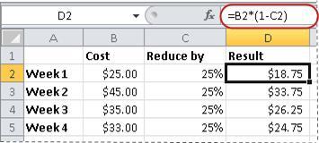 將數字格式化為百分比 - Office 支援
