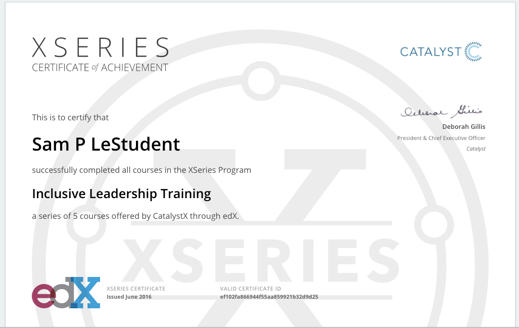 What types of certificates does edX offer?