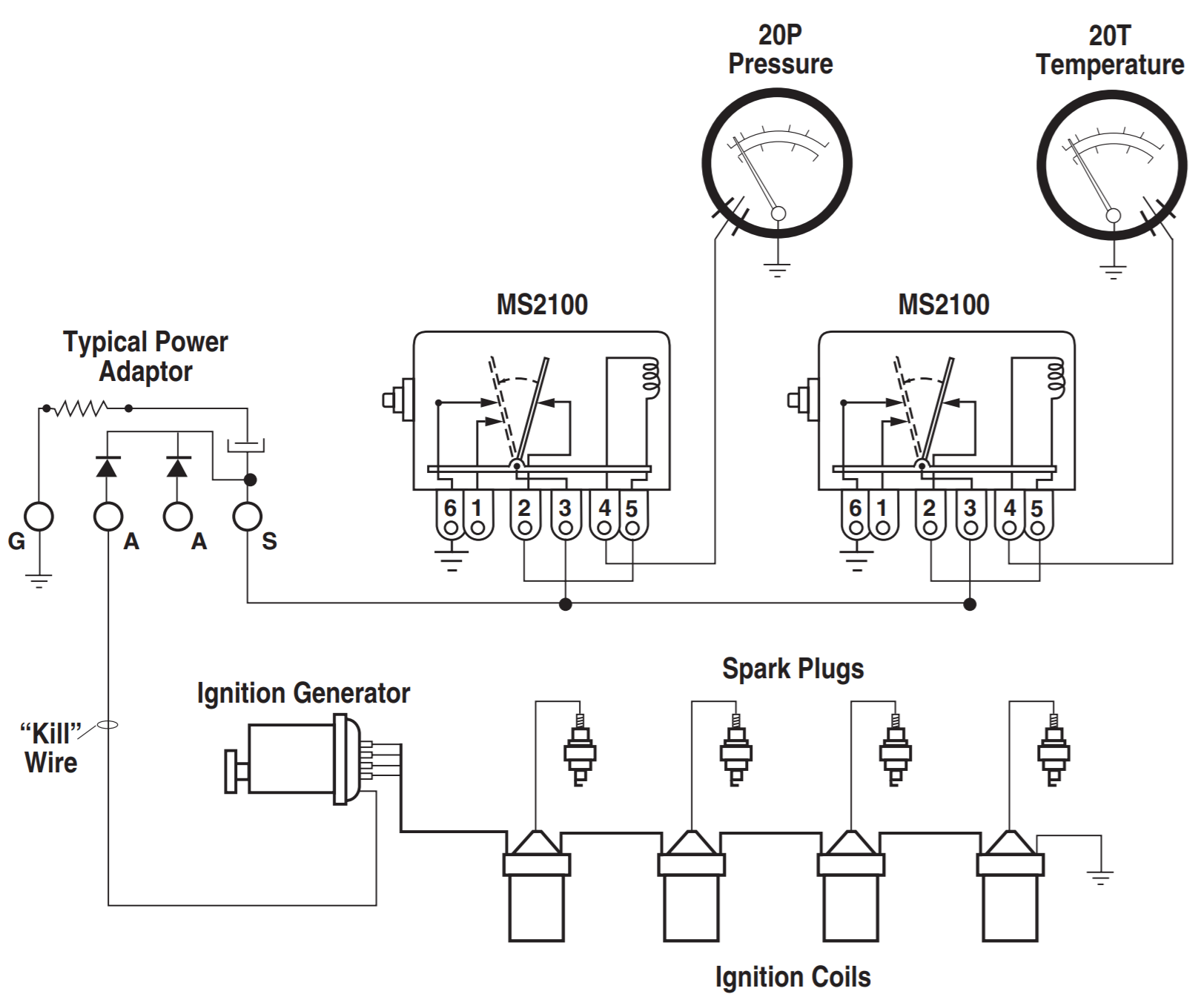 Typical Wiring Tech Sheet for Magnetic Switches and