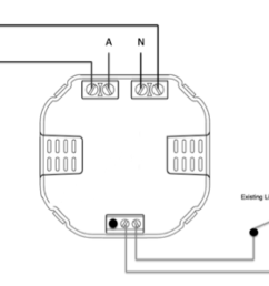 line active red wire connect to live terminal of nexus relay [ 3225 x 2491 Pixel ]