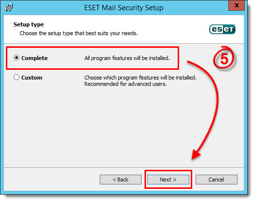 [KB3553] Upgrade ESET Mail Security for Microsoft Exchange Server to version 6.x