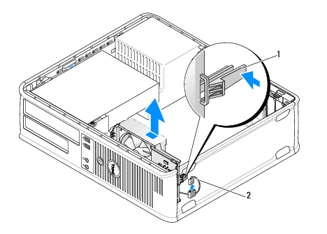 dt_fan.htm: Dell OptiPlex 760 Service Manual