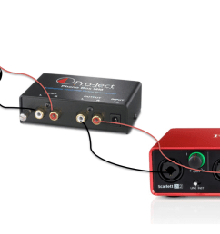 connect the outputs of the phono pre amp to a pair of line inputs of the focusrite interface a diagram showing an example of this can be found below  [ 1571 x 760 Pixel ]