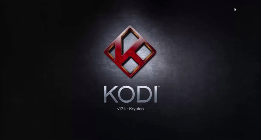 Kodi 17.4 Loading Screen