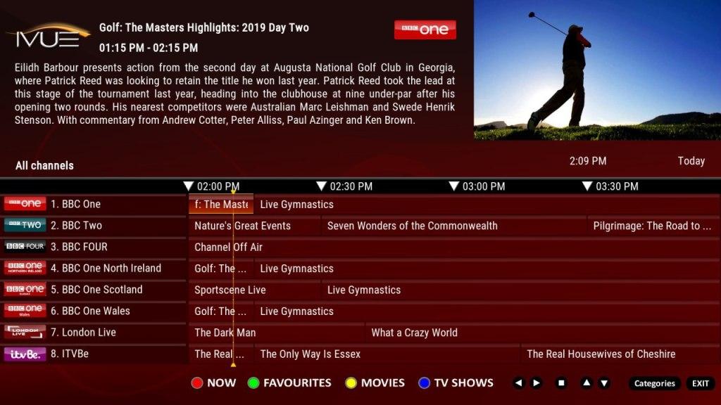 Dynamic TV Guide