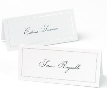 How to print on both sides of your place cards